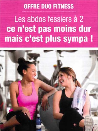Offre Duo Fitness L'Orange Bleue Boissy-Saint-Léger