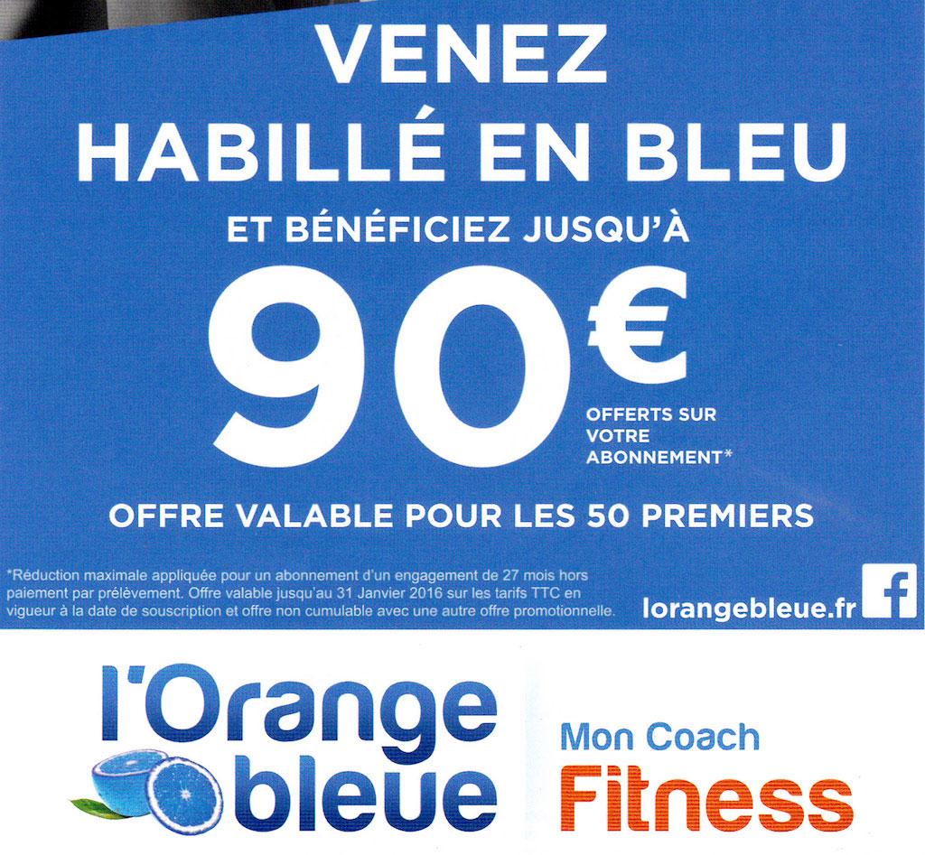 Offre L'Orange bleue